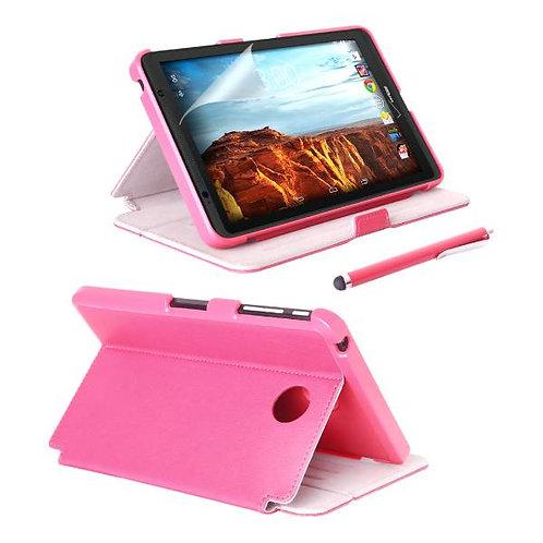 Verizon Ellipsis 8 Rome Tech OEM Folio Case w/Screen & w/Stylus - Pink