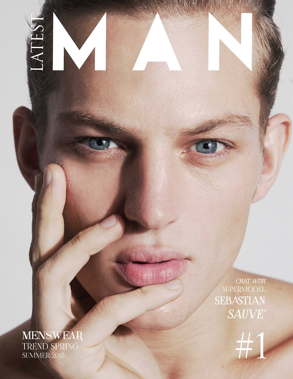 Sebastian Sauvé cover Latest magazine