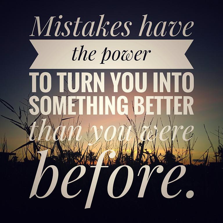 Make Mistakes Like A Pro
