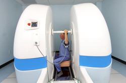 Shoulder scan in abduction