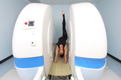 Spine scan in deep extension