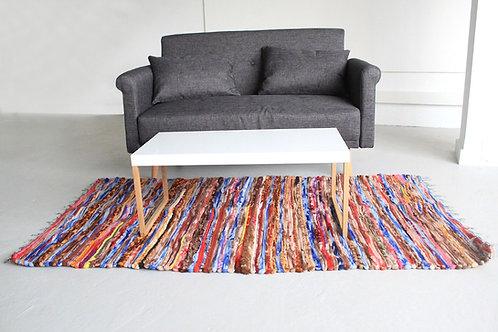Colourful Bohemian Handmade Rag Rug Boho Style