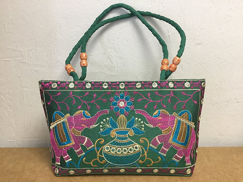 Boho Bag Green/Pink