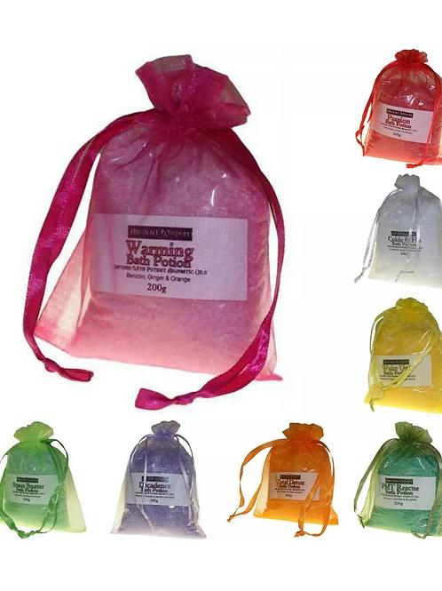 Aromatherapy Bath Potion Sets 2x Bags