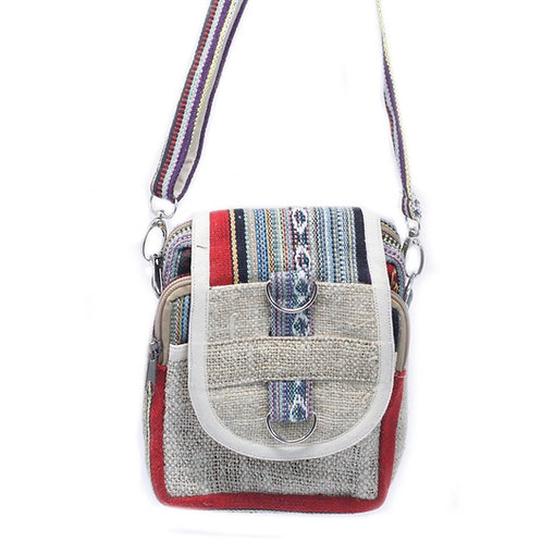 Hemp Adjustable Strap Bag