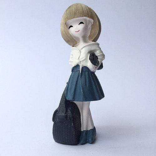 Young Girl with Handbag