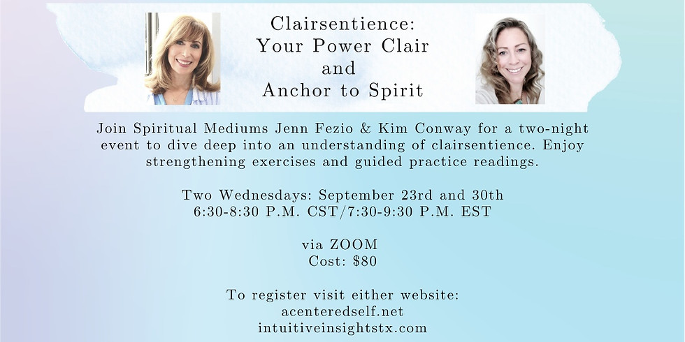 Clairsentience: Your Power Clair & Anchor to Spirit