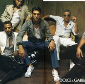 DOLCE&GABBANA SS 2003 Sneakers campaign adv.