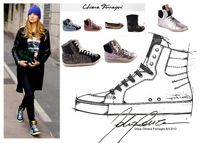 Chiara Ferragni  sneakers AI 12-13