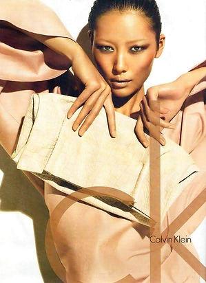 Liu Wen - Calvin Klein Spring Summer 201