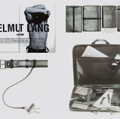 HELMUT LANG Special leather goods.