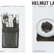 HELMUT LANG Special accessories.