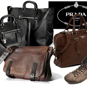 Prada Man Leather  goods Collection