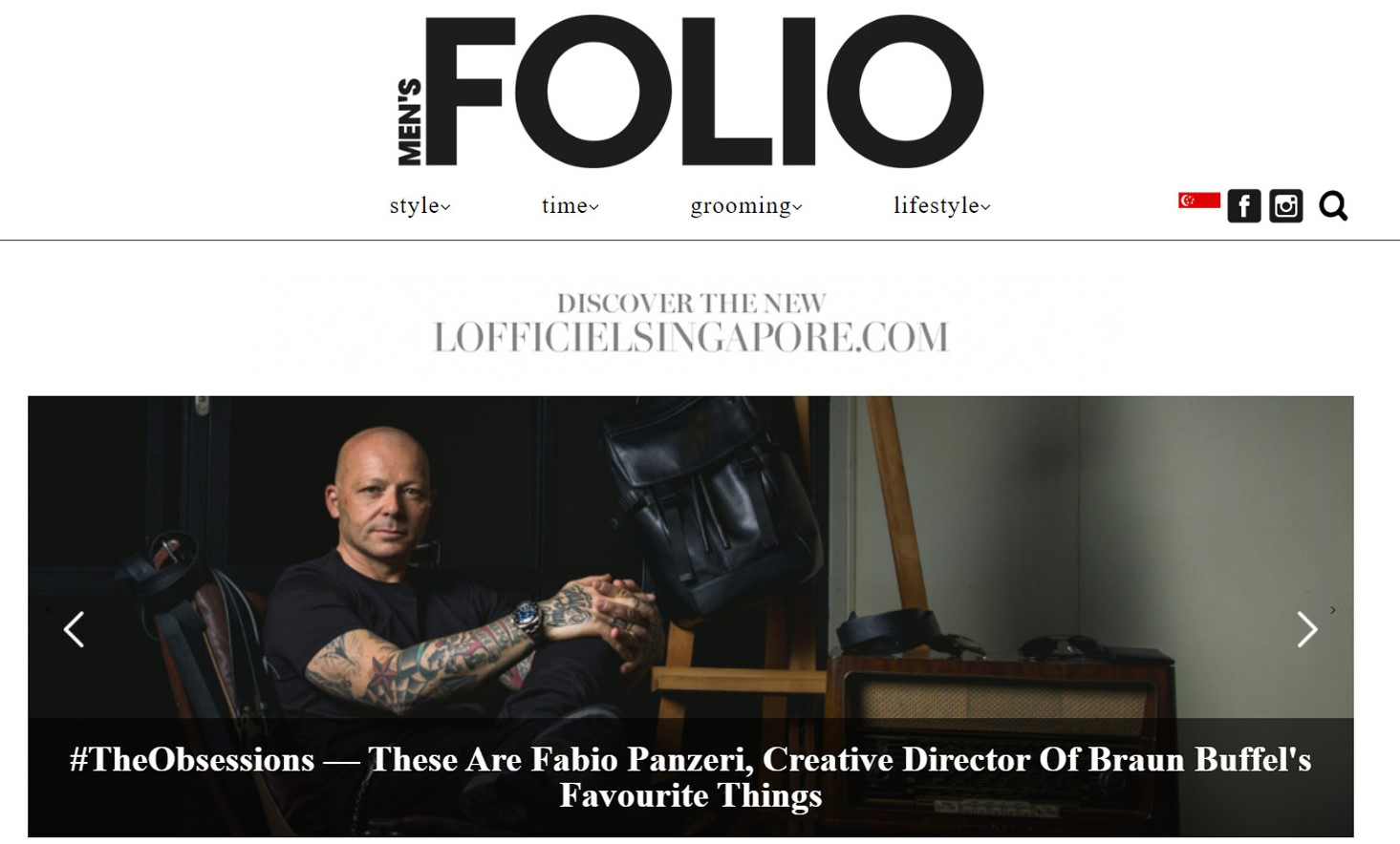 Mens Folio 16 January web magazine