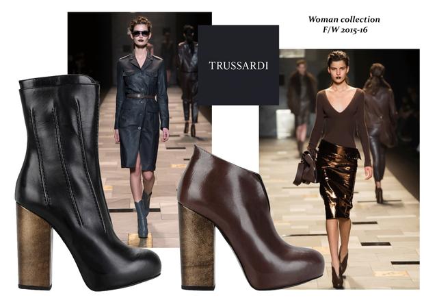 Trussardi Woman Fashion Show FW 15-16