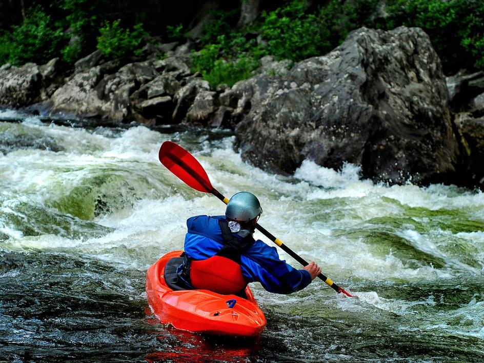Canoagem e Rafting
