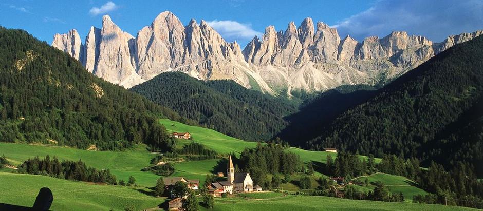 Тур в Доломитовые Альпы, озеро Брайес, Италия