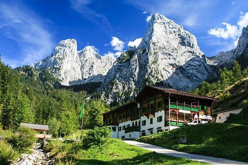 Треккинг тур в Альпы,  Австрия. Гастро-фитнес тур!