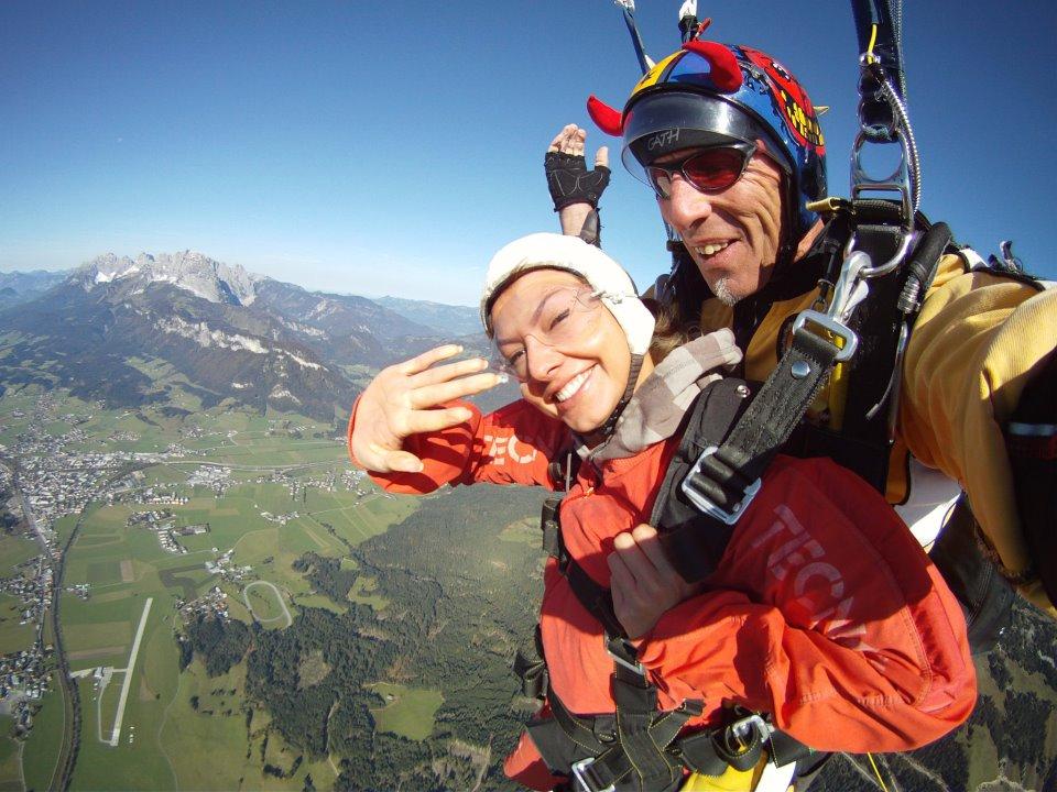 Тандем - прыжок с парашютом