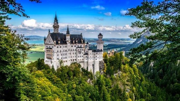 ТОП 5 ФОТО МЕСТ  в Альпах Австрии и Германии.
