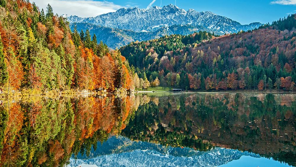 Тур в Альпы осень