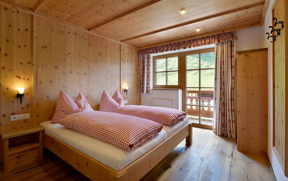 Ночевка в альпах в гостевом доме