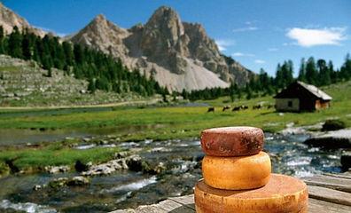 Горный сыр, турпоход