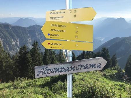 Уровни сложности треккингов в Альпах, Австрия