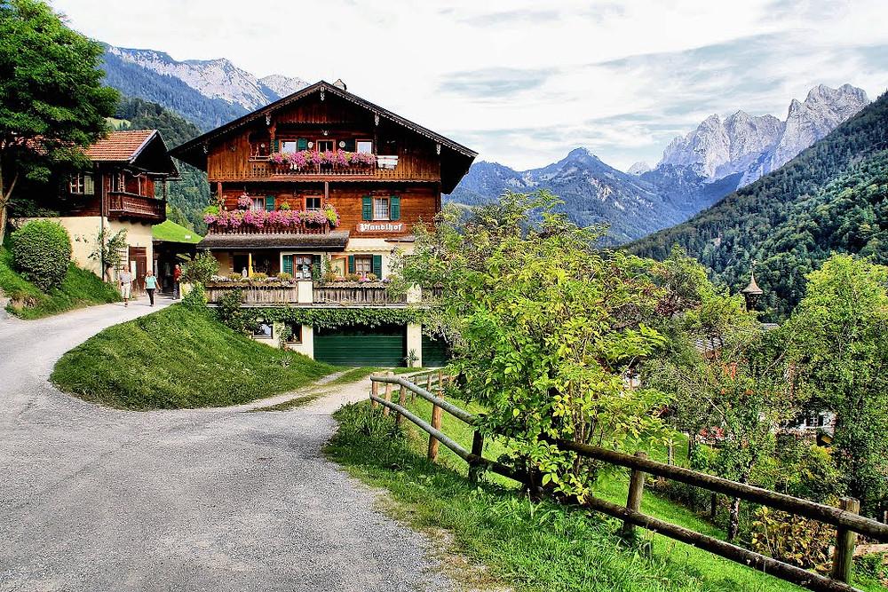 Альпийская сыроварня, треккинг в Альпы