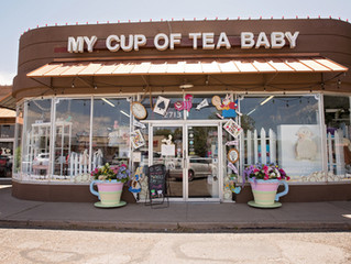 My Cup of Tea Baby | Poshlings Photography | Maternity & Newborn Photographer in Lubbock, TX