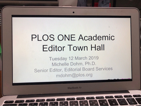 PLoS ONE Editor Town Hall Meeting