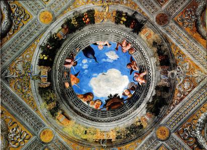 Camera degli Sposi, il capolavoro di Mantegna, gli affreschi che vengono riportati su tutti i libri di storia dell'arte per la loro bellezza