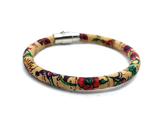 Floral Vegan Bracelet