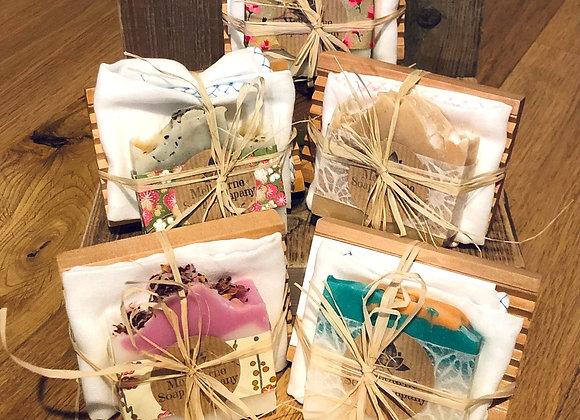 Handmade Soap & Dish Set