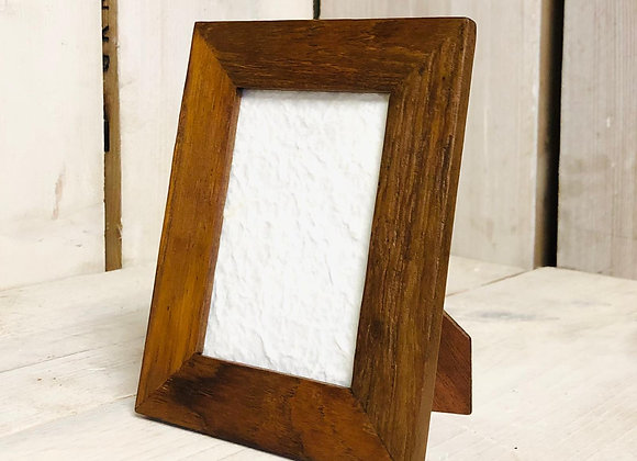 Reclaimed Teak Photo Frame - small