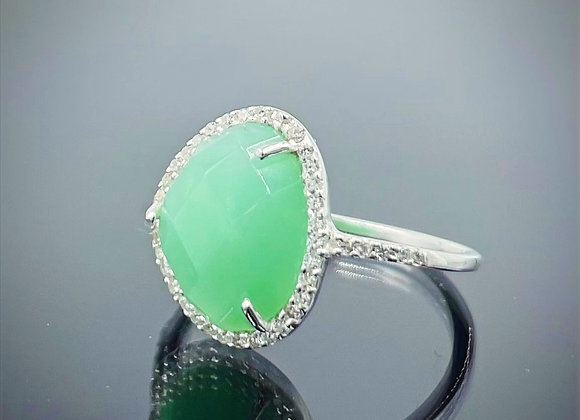 'Jack Frost' sterling silver ring