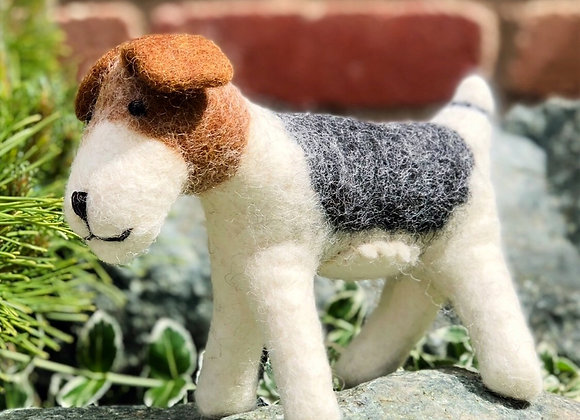 Decorative Felt Dog