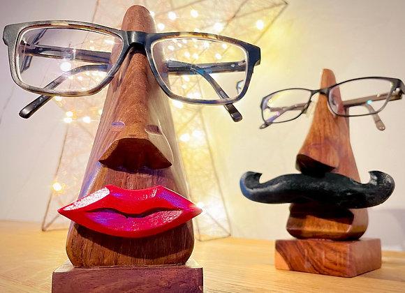 Shesham wood spectacle stand