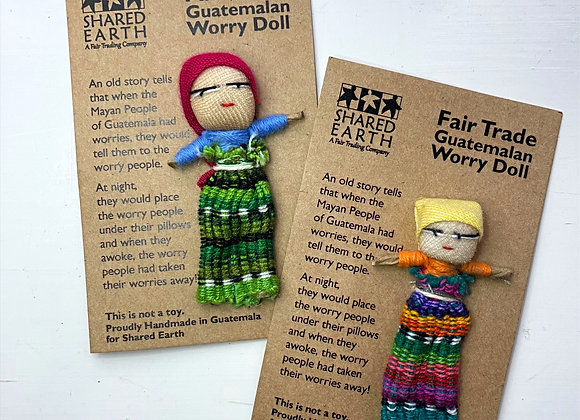 Fair Trade Guatemalan Worry Dolls