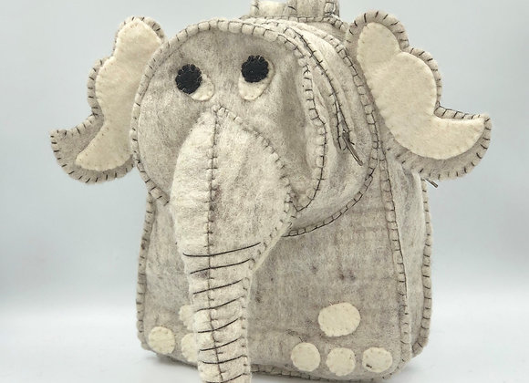 Felt Elephant Backpack (available in 4 colours)