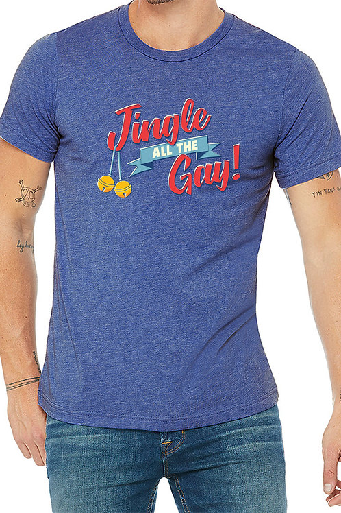 Jingle All The Gay T-Shirt