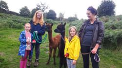 Sarah, Clover, Hana & Evelyn