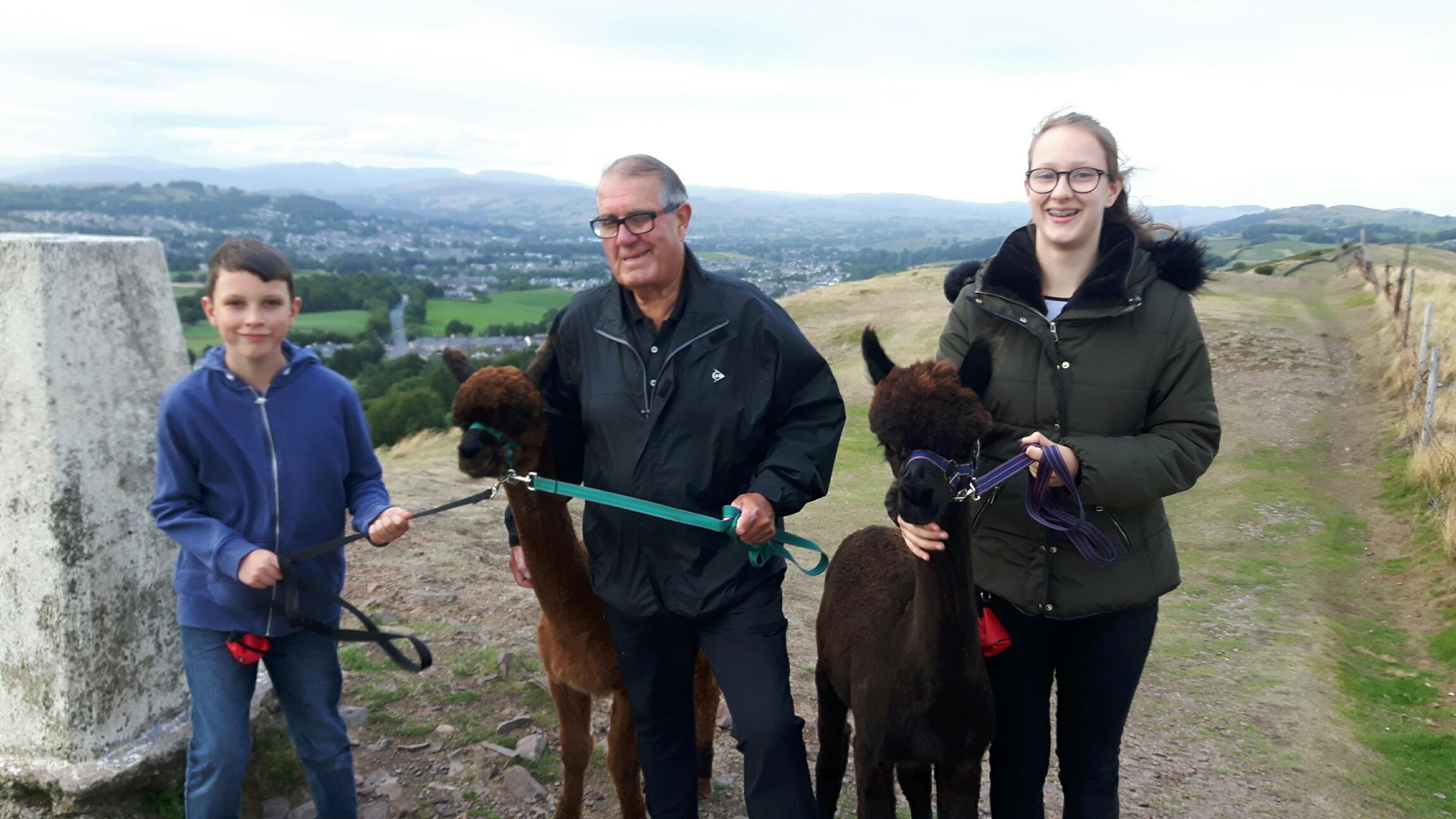 Geoff, Aimee & Alfie