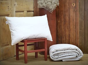 alpaca wool pillows, naturally anti allergenic allergy fibre filled insulating