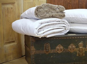 alpaca wool duvet naturally anti-allergenic fibre filled warm and insulating