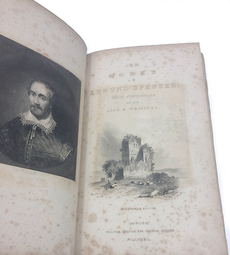 The Works of Edmund Spenser, 1840 The Faerie Queene