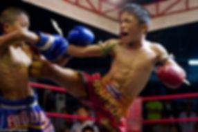 kids fight muay thai