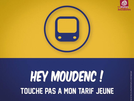 Hey Moudenc ! Touche pas à mon tarif jeune !