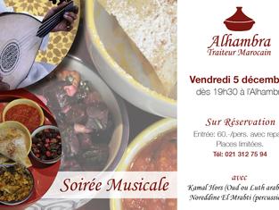 SOIRÉE MUSICALE À L'ALHAMBRA