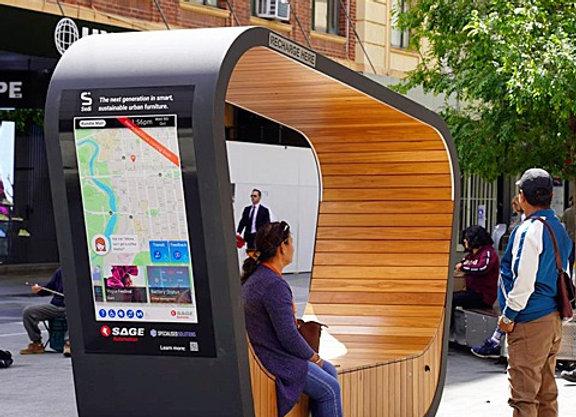 'Sedi Connect'  Solar Seating